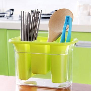 加厚塑料沥水筷子笼筷筒