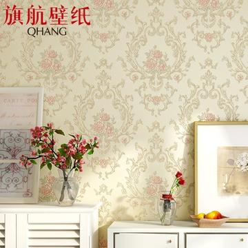 欧式无纺布壁纸客厅卧室电视背景墙纸