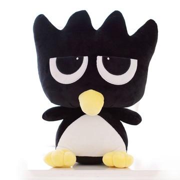 韩国呆萌黑小鸡企鹅公仔 企鹅毛绒玩具 情人节 情人节