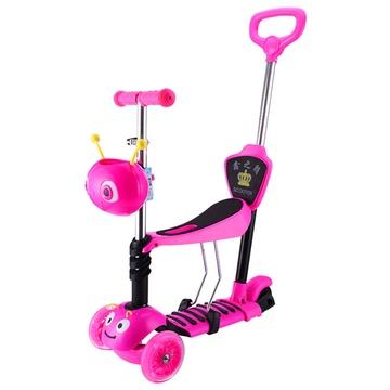 儿童滑板车小孩滑板车宝宝踏板车小孩滑滑车(豪华款)