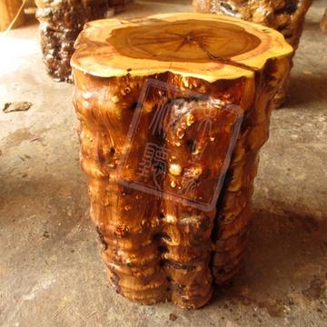 木墩子实木根雕花架底座大板支架树根树桩木