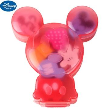 迪士尼橡皮擦儿童米奇米妮彩色可爱卡通造型小学生gd