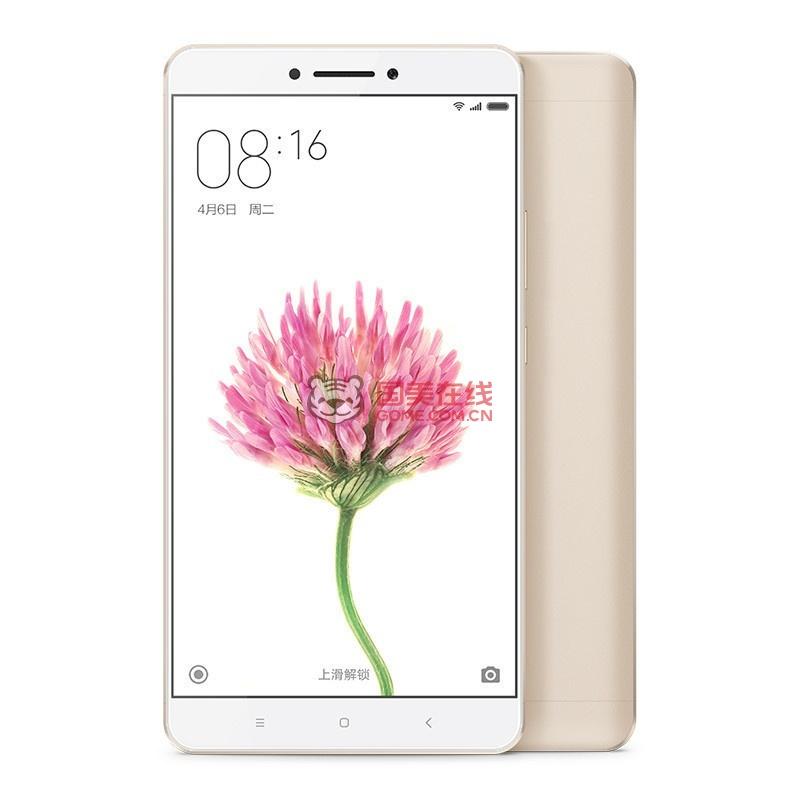 【手机小米max全网金色128G/小米通】小米Miphone6plus来电v手机地图片