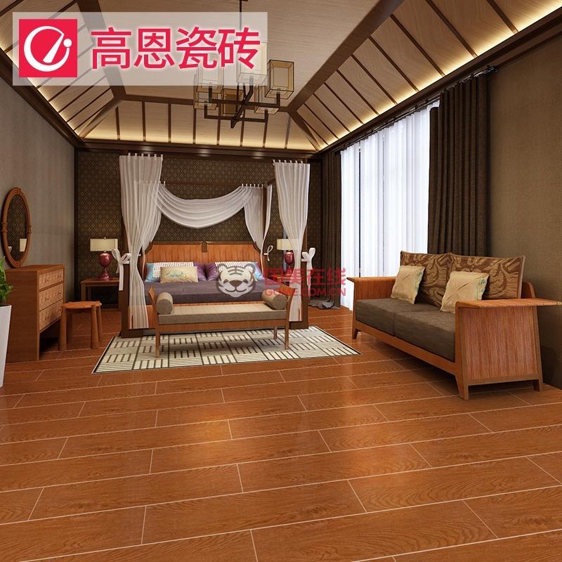 高恩瓷砖 木纹砖 m525 客厅阳台楼梯地砖 仿木地板 150*600