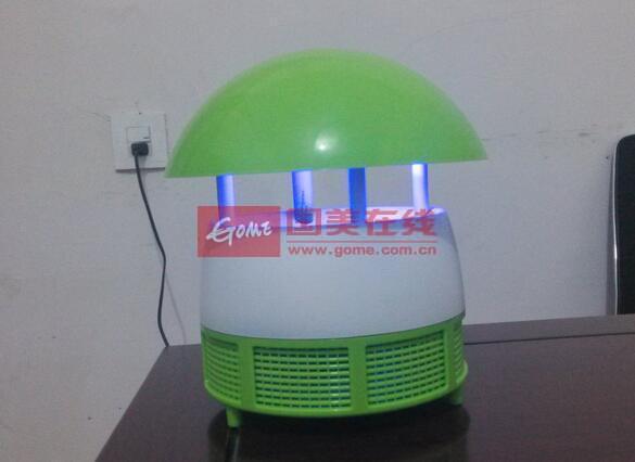 电子灭蚊灯电路设计限流,低耗电,高效能,只要接通电源就可以使用.