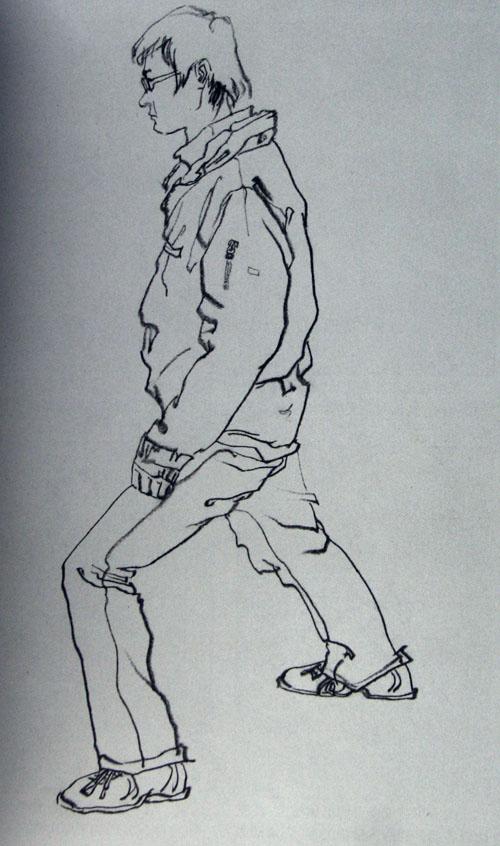人体结构手绘图儿童