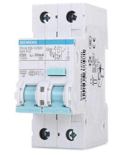 西门子(siemens)5su93561cr20漏电保护器(1p+n20a)