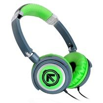 美国潮牌(Aerial 7) Phoenix系列潮流耳机头戴式耳机(绿色)(采用钢筋框架,可调式头带,毛绒耳垫,旋转耳环,以及一个出色的高品质的扬声器)