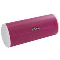 冲击波(shockwave)SM-109数码音箱 便携式插卡音箱 红色(2.0声道+低频增压 USB/SD卡插槽 支持外接设备中MP3格式音乐文件的播放)