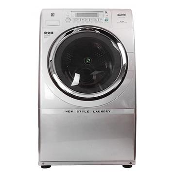 三洋(SANYO) XQG65-L903BHX 6.5公斤 3D变频滚筒洗衣机/干衣机(金) 智能模糊控制