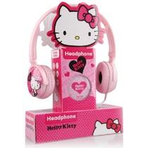 HelloKitty HKP-HP01耳机头戴式耳机(粉色)(可更换外壳,让您自由搭配,可伸缩调节尺寸,让您佩戴更舒适)