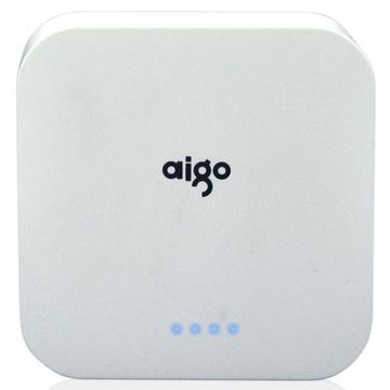 爱国者(aigo)ol10400便携式移动电源(白色)(10400mah)