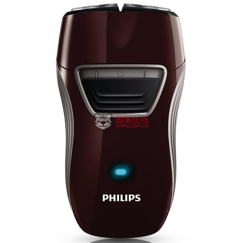 飞利浦(PHILIPS)PQ216/18电动剃须刀(弹性贴面系统、独立浮动双刀头、自动研磨刀片、智能LED显示)