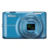 尼康(Nikon)COOLPIX S6400数码相机(蓝色)
