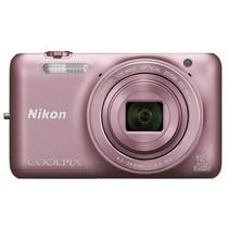 尼康(Nikon)COOLPIX S6600 数码相机(支持美颜功能 手势控制 WIFI连接)