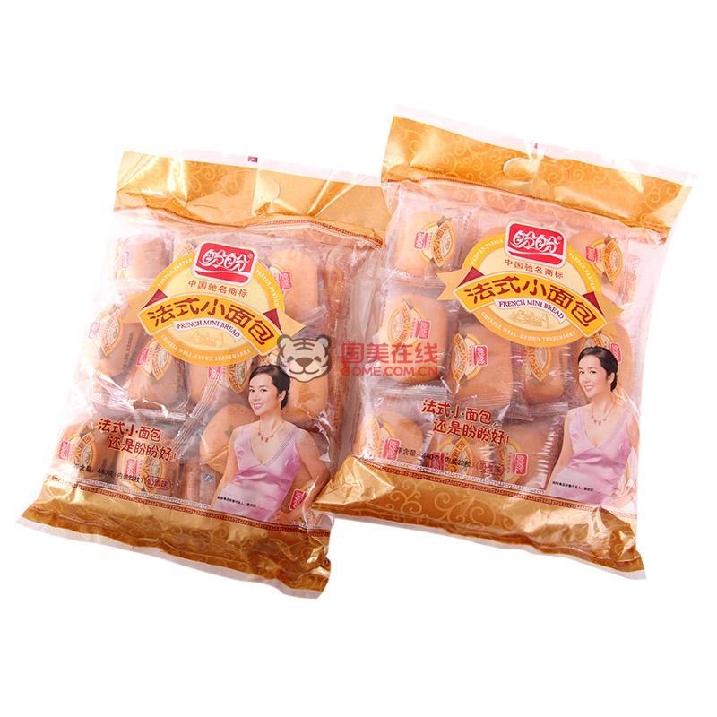 盼盼法式小面包(奶香味)440g*3图片