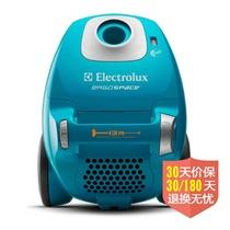 伊莱克斯(Electrolux)进口卧式吸尘器ZE346B(兰色)(3合1组合吸头,可水洗HEPA滤网)