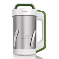飞利浦(PHILIPS)HD2052/01豆浆机(无网粉碎技术 大大减少豆渣 磨出更多豆浆)