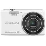 卡西欧(casio)EX-ZS35数码相机 白色  2.7英寸液晶屏 2010万像素 6倍光学变焦  美颜模式 随心而拍