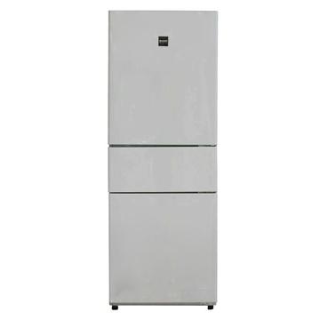 夏普(SHARP) BCD-263WC-W 263升L变频 三门冰箱(白色) 风冷无霜