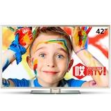 TCL彩电D42A710 42英寸 海量爱奇艺正版视频 内置wifi 安卓4.0 智能云液晶电视(金色)