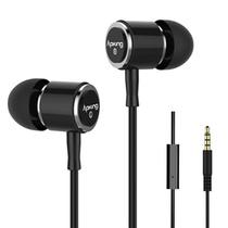 爱谱王(∧pking)IP-E231V-1超重低音可线控耳机(黑色)