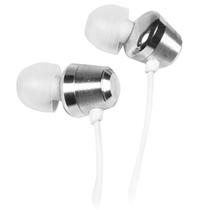宾果(Bingle)B-860-E耳塞耳塞式金属系列耳机(银色)(铝合金材质设计 ,强磁力耳机单体 提供高音质输出,镀金插针音质传输不失真)