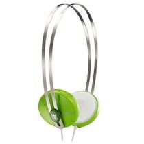 宾果(Bingle)i330耳机头戴式便携耳机 绿色(不锈钢头带 双向拉伸设计 3.5mm标准镀金插针 音质传输更有保障)