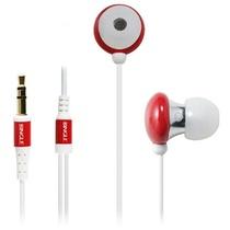 宾果(Bingle)i803 耳机入耳式耳机(红色)(闪亮外壳采用的是经过抛光处理,而内部入耳部分则为金属制成,稳固光亮)