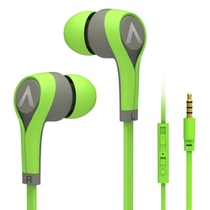 爱谱王(∧pking)IP-MB375全兼容入耳式线控手机耳机(绿色)