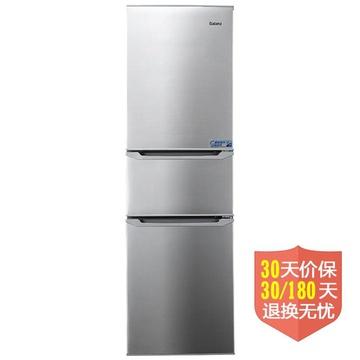 格兰仕(Galanz) BCD-216T 216升L 三门冰箱(银色) 珍·鲜系列节能时尚