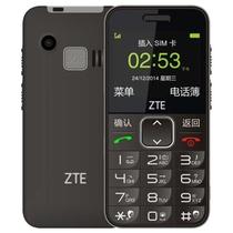 中兴(ZTE)L580 移动/联通2G 老人手机 黑色