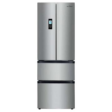 美的(Midea)  BCD-302WTZM  302升  多门冰箱(灰色)  铂金净味风冷