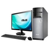 华硕(ASUS)M32AD-G3254M1 19.5英寸台式电脑(奔腾G3260 4G 500G GT710-1G  DVD WIN8)