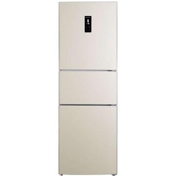 美菱(MeiLing)BCD-221ZE3BR 221升(L)电脑直冷,宽幅温区变温(白色)三门冰箱