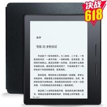 Kindle Oasis电子书阅读器SW56RW斯诺克黑 双电池设计 300ppi超清电子墨水屏 还原纸质阅读体验