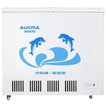 澳柯玛(aucma)bcd-216csa 216升白色大容积冰柜